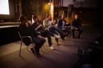 Discussion with Robert King, Franco Pagetti, Rocco Castoro et al